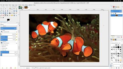 GNU Image Manipulation do programa Imagem