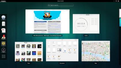 Selector de ventanas en GNOOME 3.10