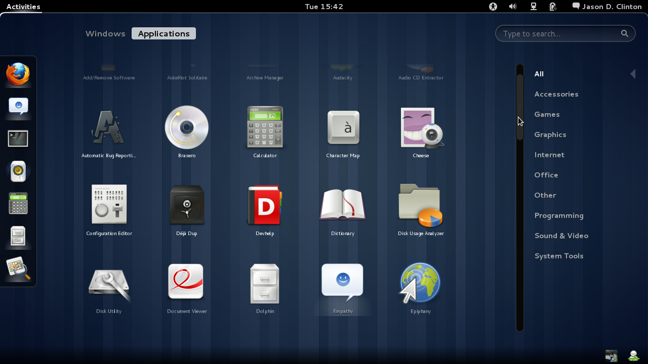 GNOME 3.0 正式发布! - 绿色圣光 - 绿色圣光
