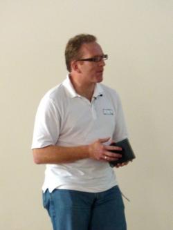 Dirk Hohndel keynoting