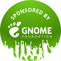 GNOME Foundation Sponsored Badge