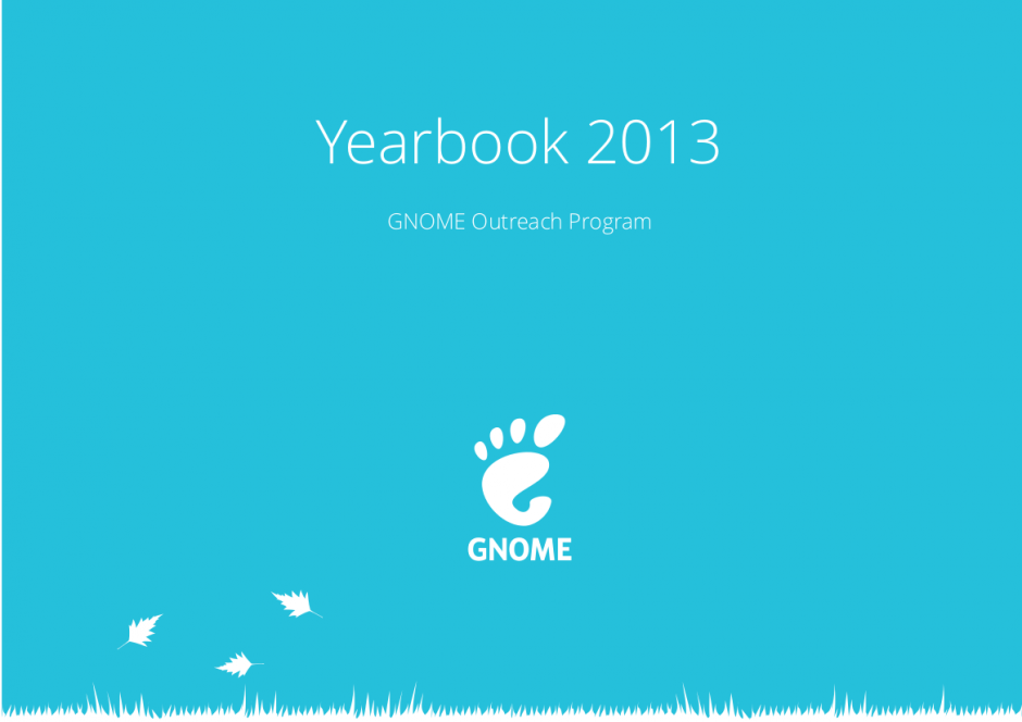 GNOME Outreach Yearbook 2013