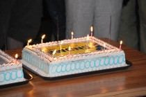 GNOME's 10 Year Anniversary Birthday Cake (Copyright James Scott Remnant, CC BY-NC-ND 2.0)