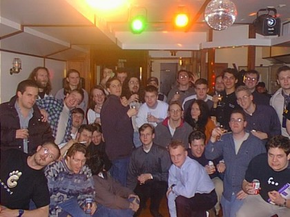 The very first GUADEC, held in Paris in 2000