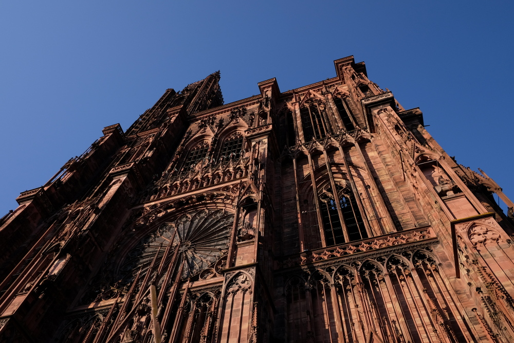 Strasbourg Cathedral. (Photo by Garrett LeSage.)