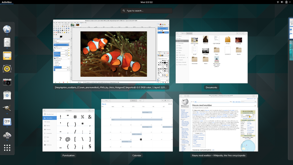 GNOME 3 overview