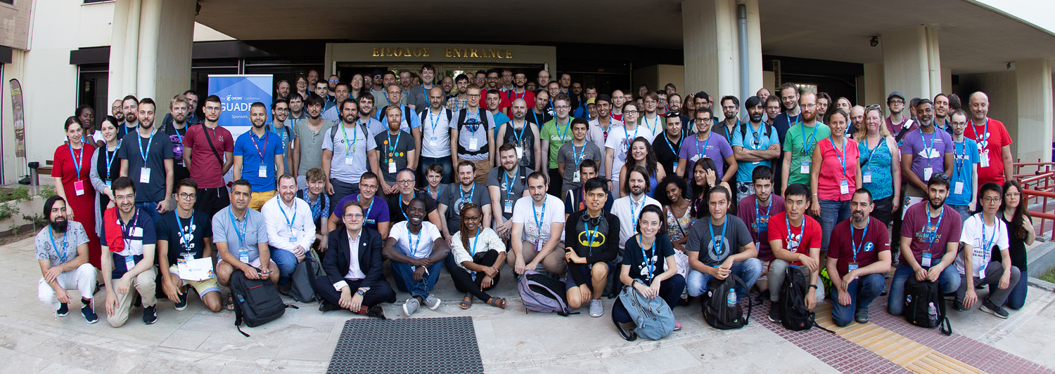 2019 GUADEC group photo